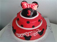 Minnie Mouse rood